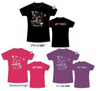 YONEX ( Yonex ) British World Championship 2013 anniversary limited edition T shirt ladies dry T shirt YOB13011