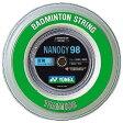[楽天市場] YONEX (ヨネックス) バドミントン・ストリング ナノジー98 100mロール NBG98−1 30%OFF P06Dec14