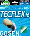 [楽天市場] GOSEN ゴーセン テニス・ストリングステックフレックス16 TECFLEX16 TS670 50%オフ