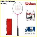 [楽天市場]WILSON ウィルソン バドミントン ラケットフィアースCX 5600 FIERCE CX 560030%OFF