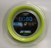 [楽天市場] YONEX ヨネックス バドミントン・ストリングスミクロン80 200m MICRON80 200m BG80−2