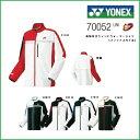 YONEX ヨネックス ユニ 裏地付きウィンドウォーマーシャツ(フィットスタイル) 70052 テニス バドミントン ウィンドブレーカー 男女兼用