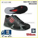[楽天市場] WILSON ウィルソン テニスシューズ オールコート用ラッシュ プロ 2.0 メンズ RUSH PRO 2.0 MEN'S WRS3220902...