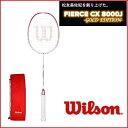 [楽天市場]WILSON ウィルソン バドミントン ラケットフィアースCX8000J -GOLD EDITION-松友美佐紀 2012-2013スペック復刻版