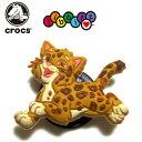 【★在庫一掃セール!】 クロックス(crocs) ジビッツ 猫 トラ 豹 【メール便OK】