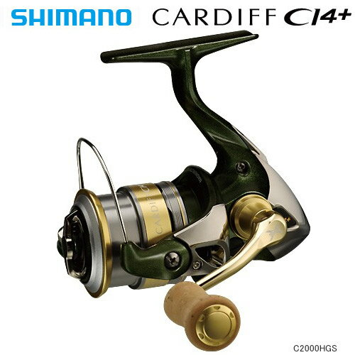 【送料無料!】 シマノ(SHIMANO) 12カーディフ CI4+ C2000HGS