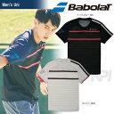「3月発売予定※予約」「2017新製品」Babolat(バボラ)「Unisex ショートスリーブシャツ BAB-1712」テニスウェア「2017SS」