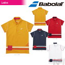 「2017新製品」バボラ(Babolat)「Women's レディース ショートスリーブシャツ BAB-1786W」テニスウェア「2017FW」