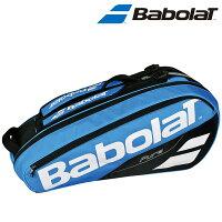 「ランドリーバッグ2枚プレゼント」バボラ Babolat テニスバッグ・ケース RACKET HOLDER X6 ラケットバッグ(ラケット6本収納可) BB751171の画像