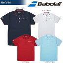 バボラ Babolat テニスウェア ユニセックス SHORT SLEEVE SHIRT ショートスリーブシャツ BTULJA10 2018SS