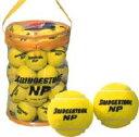BRIDGESTONE(ブリヂストン)「BRIDGESTONE NPノンプレッシャー 30個入り」テニスボール