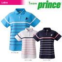 プリンス Prince テニスウェア レディース ゲームシャツ TML163T 2018SS