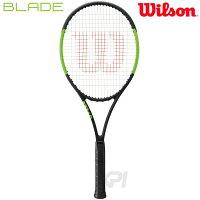 「2017新製品」Wilson(ウイルソン)「BLADE 104 (ブレイド104) WRT733310」硬式テニスラケット(スマートテニスセンサー対応)【KPI】【kpi_d】の画像