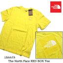 ショッピングバック 【4/30迄の売切プライス】ノースフェイス USAモデル バックロゴ Tシャツ 半袖  The North Face RED BOX T-Shirt 【9411201768-ylw】(AM)(NM)
