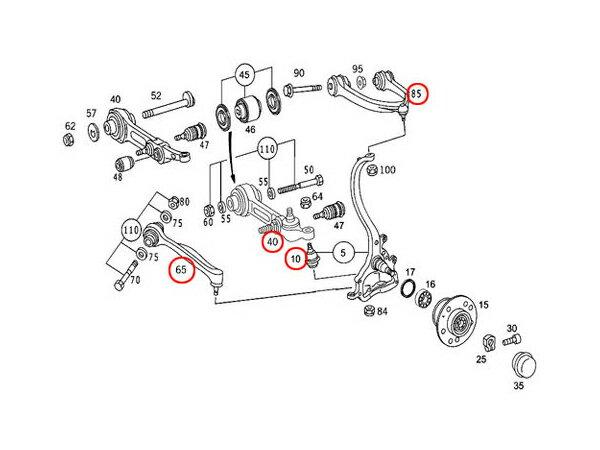 Protech autoparts rakuten global market mercedes benz s for Mercedes benz s430 parts catalog