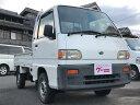 サンバートラック MT 軽トラック 2人乗り ホワイト(スバル)【中古】