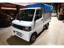 ミニキャブトラック パネルバン リアカーテン仕様 幌車 特装車(三菱)【中古】