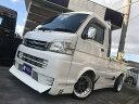 ハイゼットトラック ジャンボ リミテッド 4WD 5速MT レザー調シートカバー(ダイハツ)【中古】