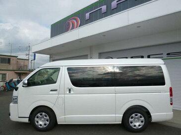 ハイエースワゴン GL セーフティセンス 公認10人乗りフラットベッド(トヨタ)【評価書付】