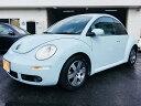 VW ニュービートル 2006年後期ベースグレードモデル 地デジHDDナビ Dレコ(フォルクスワーゲン)【中古】