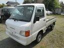 サンバートラック 4WD オーディオレス PS(スバル)【中古】