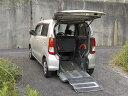 AZワゴン XG iスロープ式車いす移動車後席付 4名(マツダ)【中古】