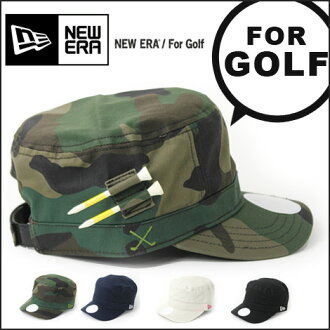 NEW ERA new era Golf Golf WM-01 ADJUSTA BLE adjustable work CAP and golf sport men's women's round new cotton cap Hat