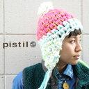 ショッピング耳あて ニット帽 メンズ ボンボン レディース ブランド Pistil MARCY 耳あて ピンク 白 【メール便可】