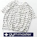 ショッピングスマイル gym master Tシャツ ハッピーペイントジャガードビック TEE G233633 ALWAYS SMILE 半袖 メンズ レディース ユニセックス ブランド 大きいサイズ