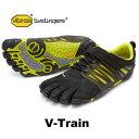 VibramFiveFingers ビブラムファイブフィンガーズ 5本指シューズ V-Train 17M6602 Black/Green 【...