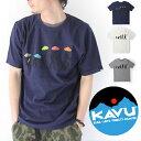 KAVU Tシャツ メンズ カブー Back to Natu...
