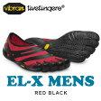 【送料無料】vibram fivefingers ビブラム ファイブフィンガーズ 5本指シューズ Men`s EL-X Red Black ランニングシューズ メンズ ビブラムファイブフィンガーズ Vibram FiveFingers ジム カジュアル【メール便不可】