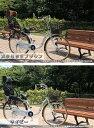 【送料無料】【豪華4大特典】ママチャリ 26インチ メリオル 後子供乗せRBC-007付 BAA適合車 後ろ子供乗せ自転車 軽快車 変速なし 自転車