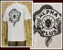 ANDSUNS アンドサンズ LIMITED ALPHA PLUS アルファプラスとのコラボ Tシャツ メンズ 【ALPHA LIMITED】