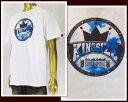 KINGSIZE キングサイズ NG HEAD率いる『KINGSIZE草野球団』 Tシャツ メンズ 【KS-SS15-T29SKY】