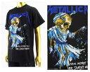 OFFICIAL LICENSE オフィシャル ライセンス カニエウェスト ジャスティンビーバー着用 Metallica メタリカ ロックTシャツ メンズ 【MET2006メタリカ】