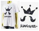 KINGSIZE キングサイズ NG HEAD率いる『KINGSIZE草野球団』 はんこでポンッ Tシャツ メンズ 【KSSS17-T07 MAIN LOGO STAMP 】