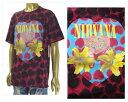 OFFICIAL LICENSE オフィシャル ライセンス Nirvana ニルヴァーナ Justin Bieber ジャスティンビーバー着用 Tシャツ メンズ 【NV8746 ニルバーナ】