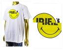 IRIE LIFE アイリーライフ FIRE BALL スマイリーをスライドさせてギミックを効かせたアイテム 隙間からのぞくPOW KING Tシャツ メンズ 「IRSS17-049スマイル」