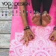 YogaDesignLab ヨガラグ エコヨガタオル ヨガデザインラボ 【ヨガマット 柄 折りたたみ ヨガラグ ヨガタオル ヨガ ピラティス ホットヨガ マット ヨガラグ 携帯 Yoga Design LAB 】