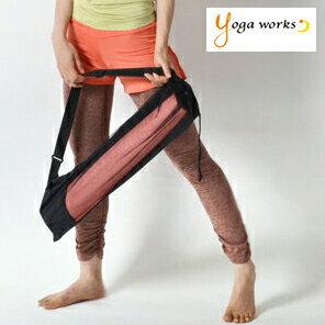 ヨガワークス メッシュバッグ ヨガマットケース ヨガマット ケース ヨガワークス メッシュバッグ ヨガマット バッグ ヨガマットバッグ yogaworks 6mmマット対応