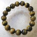10mm玉ブレスレット タイガーアイ 内径15.5cm(天然石 パワーストーン アクセサリー ブレス) メール便可