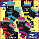 ◆簡易配送可◆数量限定◆MIZUNO◆2016年10月発売◆ソフトテニス 日本代表応援 ブレスサーモ 手袋 62JY6X12ミズノ タッチパネル対応