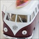 ハワイアン サーフカー/1962/VW BUS/エンジ/レッドボード(ハワイ/ハワイ 雑貨/ハワイアン雑貨/VW/ウォルクスワーゲン ミニチュア/サーフボード/ミニチュアカー/アメリカン雑貨/プレゼント)