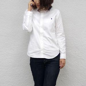 フレックス オックスフォードボタンダウンシャツ