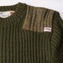 Harris Tweed/ハリスツイード イギリス製セーター NATO軍タイプ クルーネックコマンド