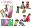 ゴールデンサイズパウ柄タンク★送料無料★ 大型犬 犬服 人気 わんちゃんの名前入ります