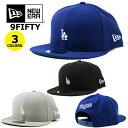 ニューエラ キャップ 9FIFTY ドジャース ミニロゴ NEW ERA DODGERS (ブラック/ブルー/グレー/MLB/スナップバックキャップ/帽子/ゴルフ/..