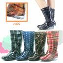 ショッピング長靴 婦人用長靴/PVC素材の完全防水レインブーツ・長靴/ロング丈なので足元を雨からしっかりガードしてくれます/雨の日に/傘/水/ゲリラ豪雨/台風に大活躍/3155269-LB8120