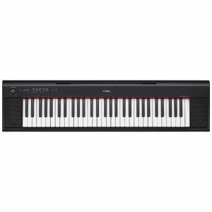 【納期約7〜10日】NP-12B 【送料無料】[YAMAHA ヤマハ] 電子キーボード piaggero ピアジェーロ 61鍵盤 ブラック NP12B